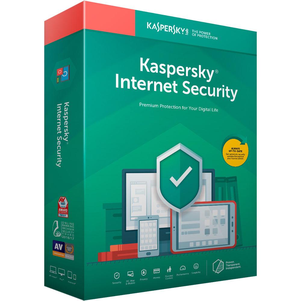 Antivirus Kaspersky Internet Security 3 Dispositivos Por 2 Años