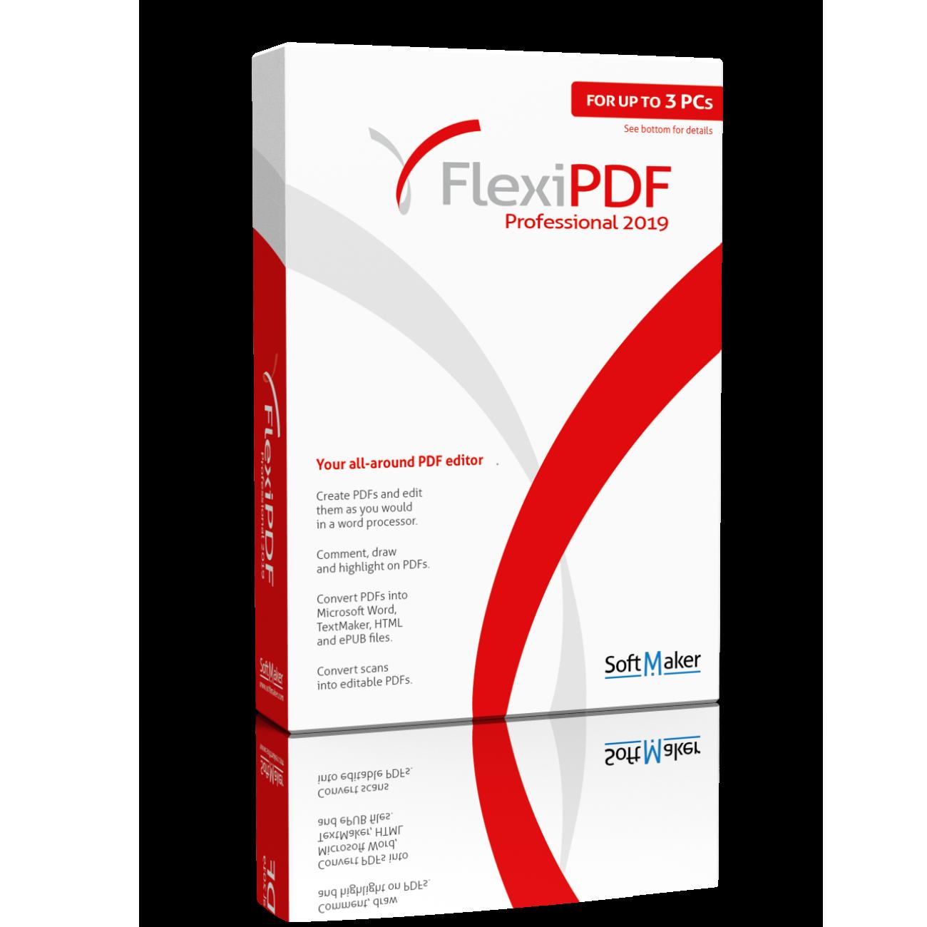 Editor de PDF FlexiPDF Professional