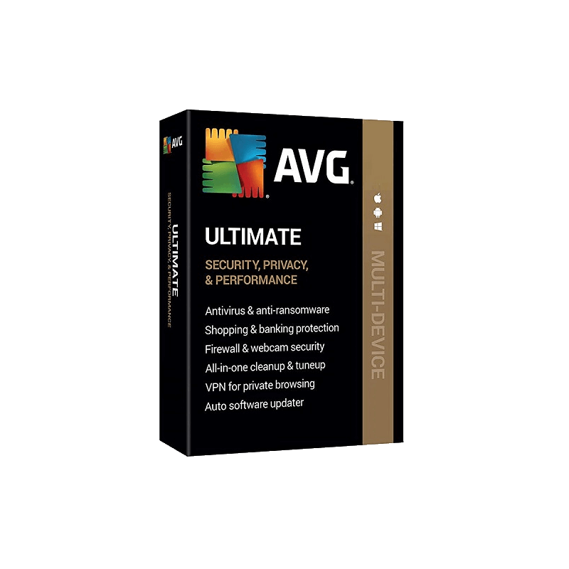 AVG Ultimate 10 dispositivos por 1 año
