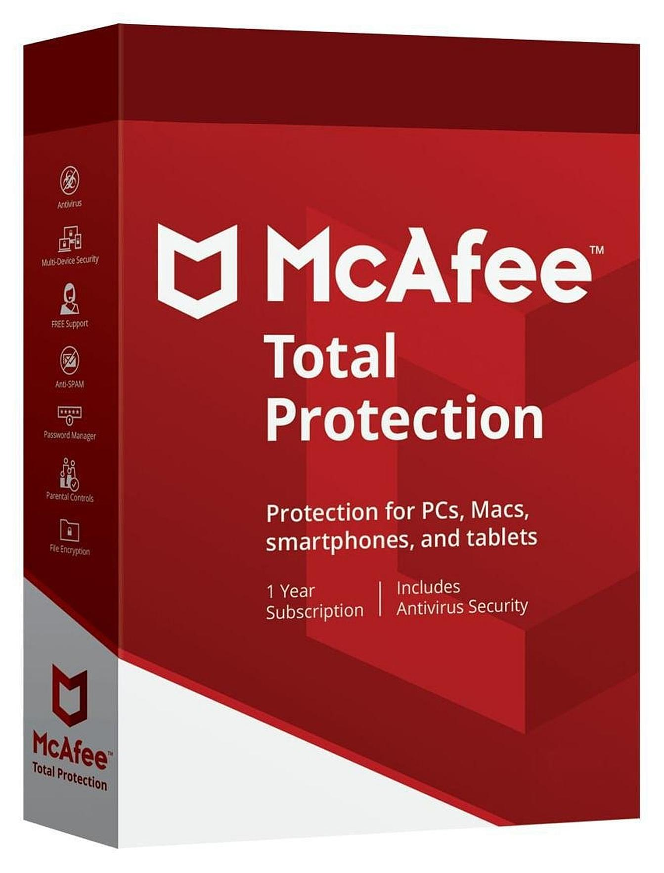 Licencia McAfee Internet Security