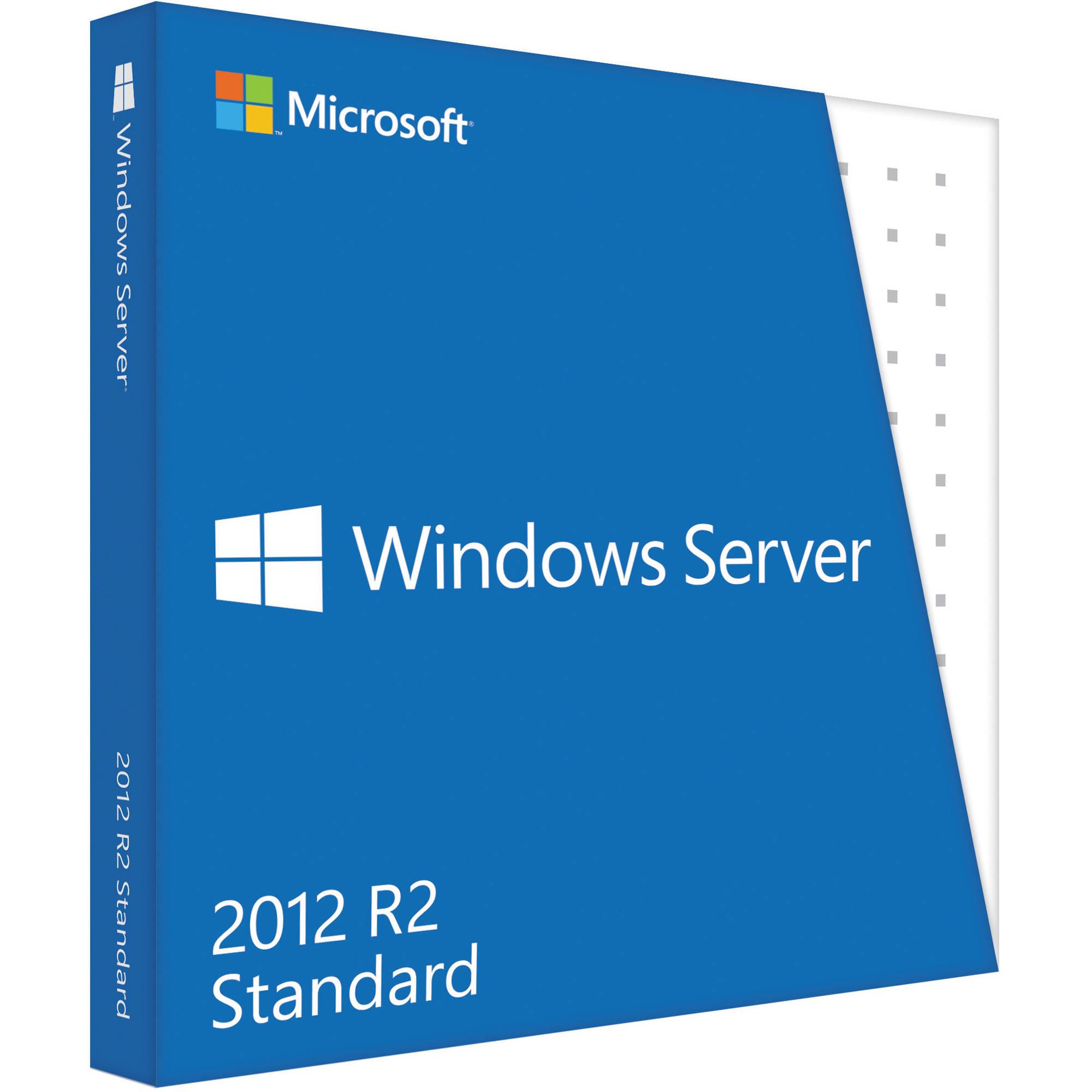 Licencia Windows Server 2012 R2